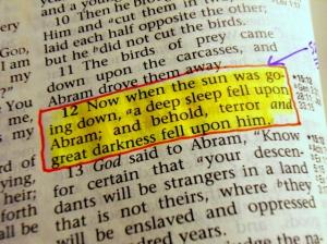 Genesis 15:12